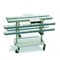 CROSSMEMBERS SET + STORAGE TROLLEY    (Reference evolve in 955A.9252)