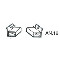 2 ANCHORING STUDS