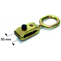 ORIENTABLE 50 MM PULL CLAMP