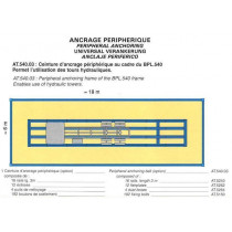 PERIPHERIC FRAME 18 ml X 6 ml