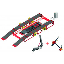 SMART RHONE - 3.5T Lifting Capacity 230V TRI 50/60 HZ - Detachable Ramps with Naja 3D Electronic Measuring System