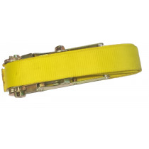 YELLOW STRAP  ( 75 mm large  &  2500 mm long)