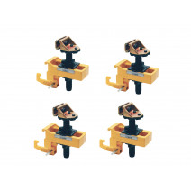 SET OF 4 ANCHORING CLAMPS