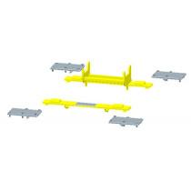 M8  Richtbank Hebesystem für X-Trac Richtbühne