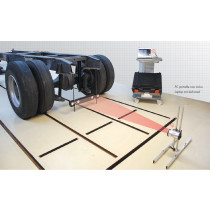 TRUCK CHASSIS ALIGNMENT SYSTEM