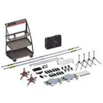 COMPLEMENTARY SET of CMC4000 for TRUCK STEERING WHEELS ALIGNMENT SYSTEM + STORAGE TROLLEY